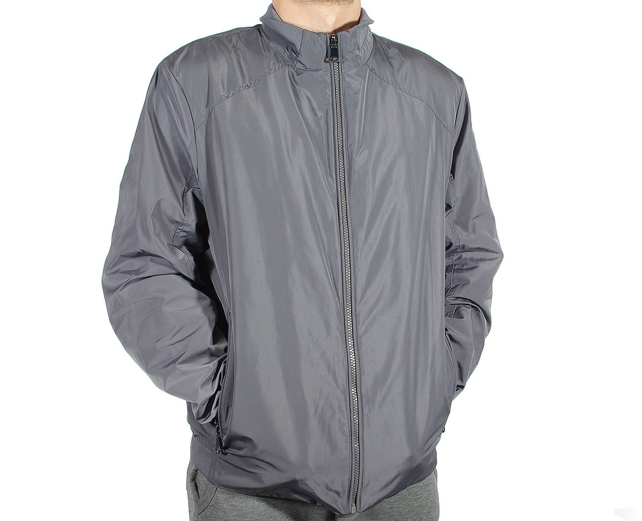 GEOX M8220U kurtka man jacket metal grey