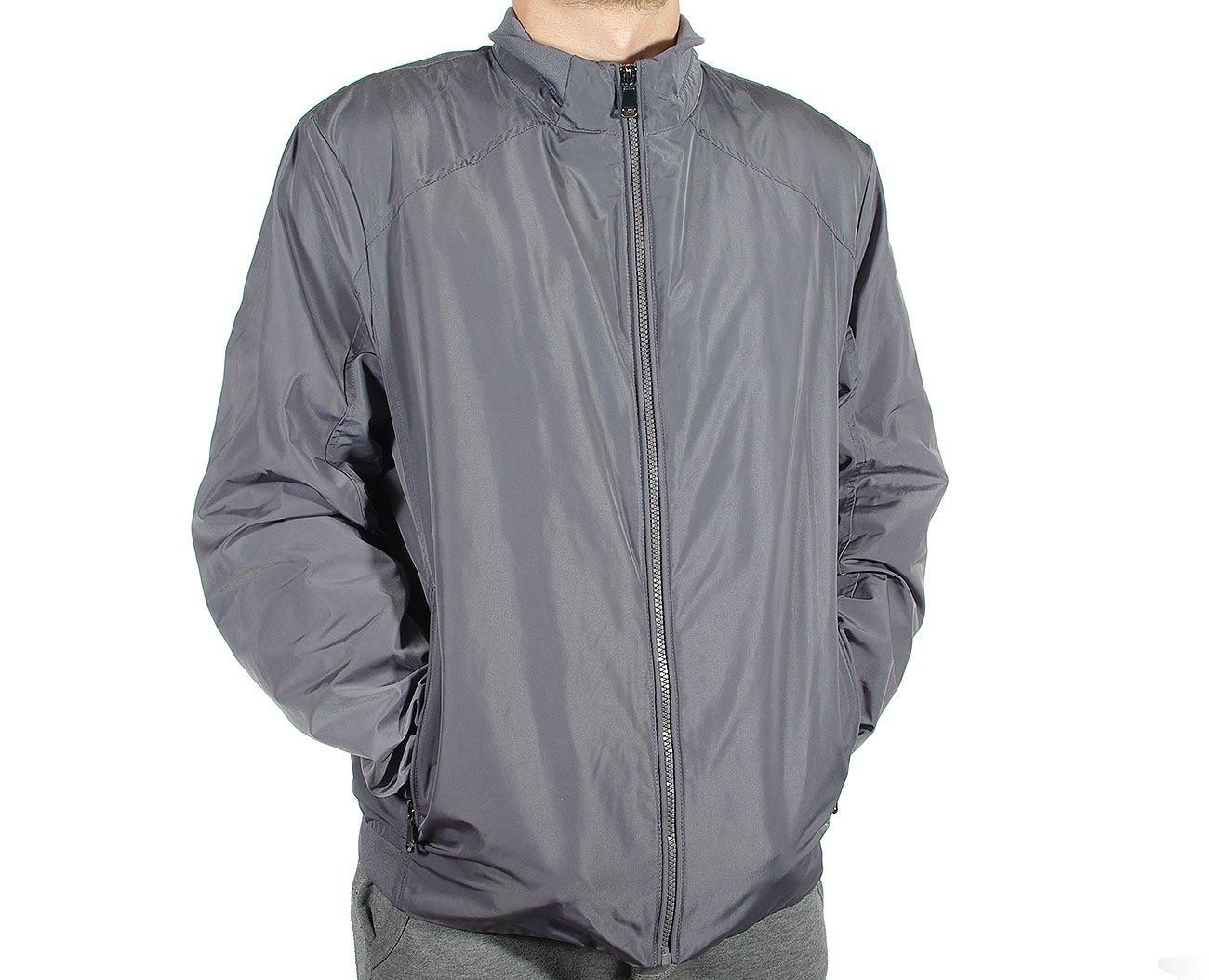 GEOX M8220U kurtka man jacket metal grey