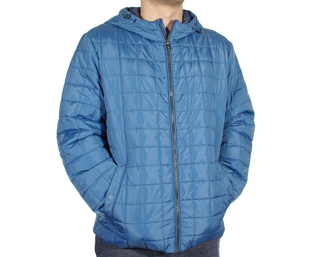 GEOX M8221J kurtka man jacket blue shadow
