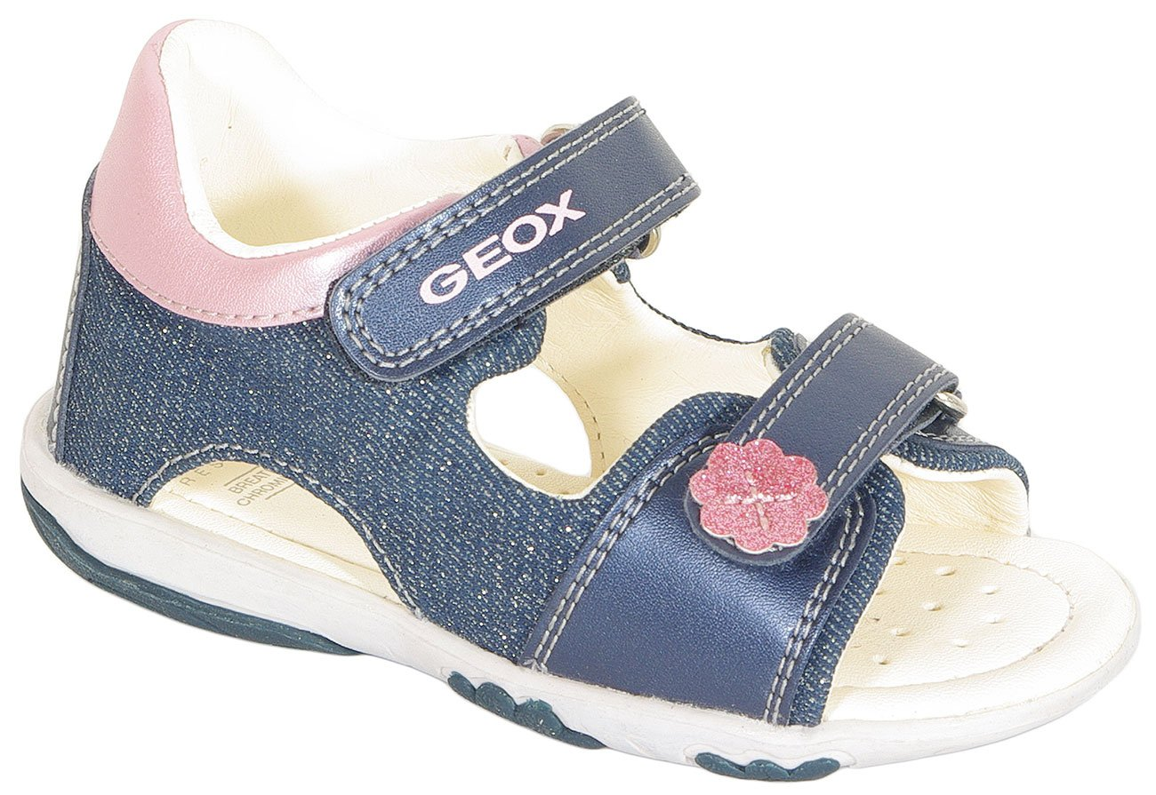 GEOX Nicely A sandały canvas+prl.geobuck