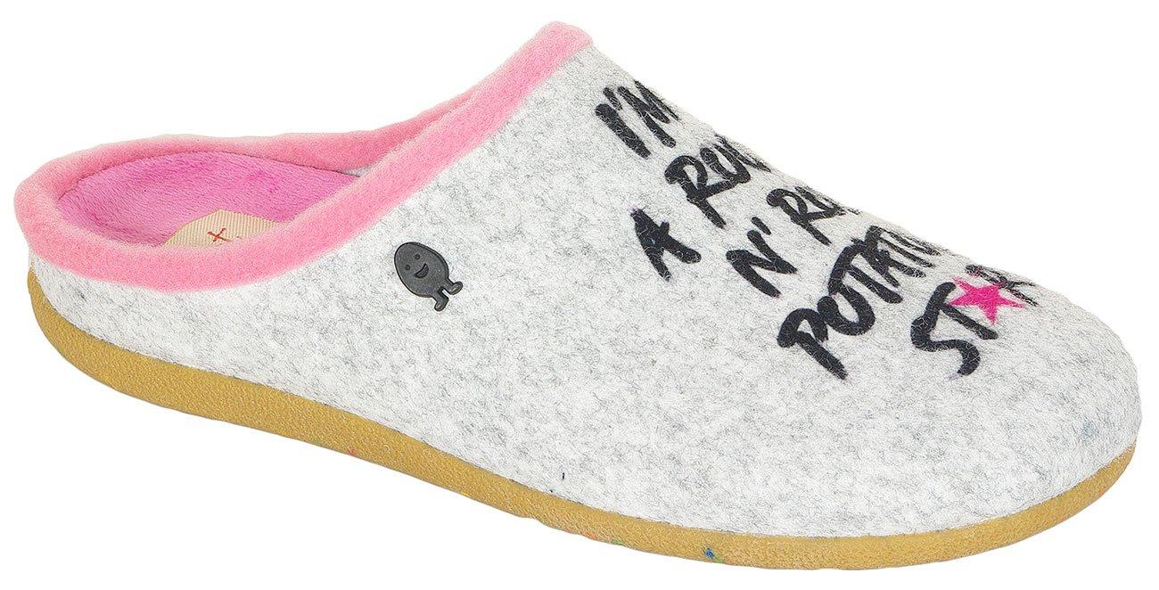 Gioseppo Akhiok obuwie domowe gray
