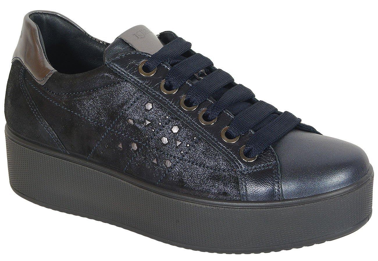 igi&co 41522 sneakers capra blu