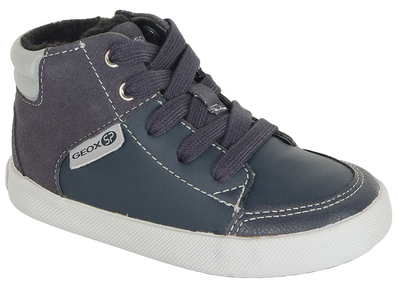 GEOX Gisli A sneakers GBK+suede navy/grey