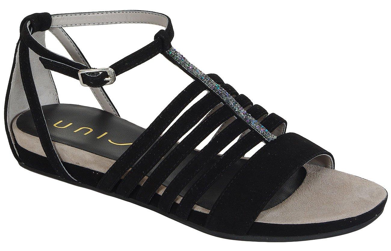 Unisa Astel Ks Black sandały
