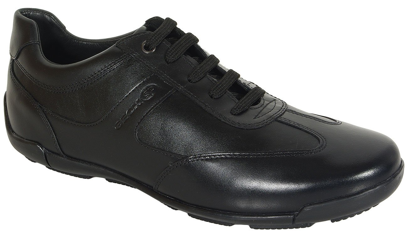 GEOX Edgware C sneakers smooth/synthetic leather black