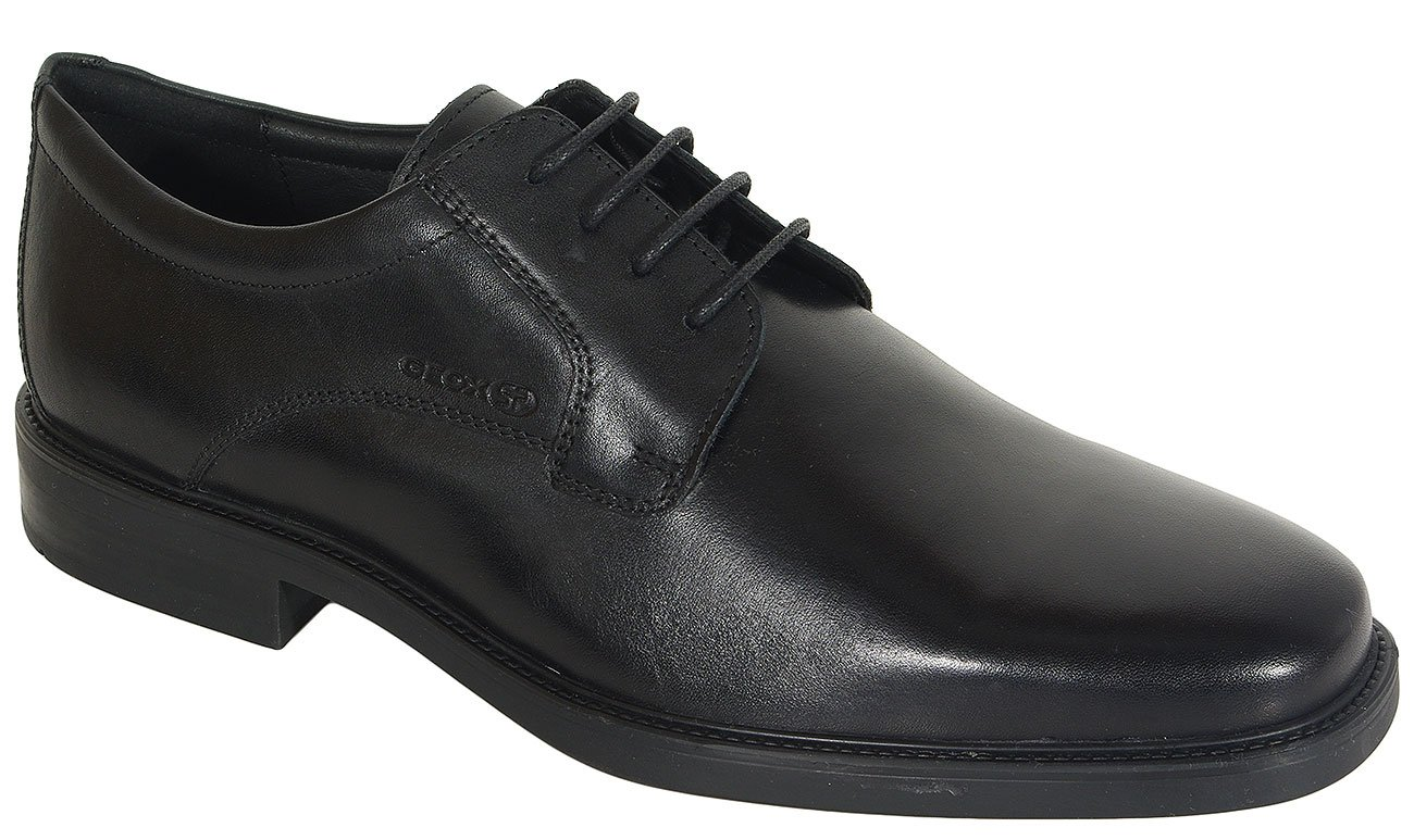 GEOX Brandolf C półbuty smooth leather black