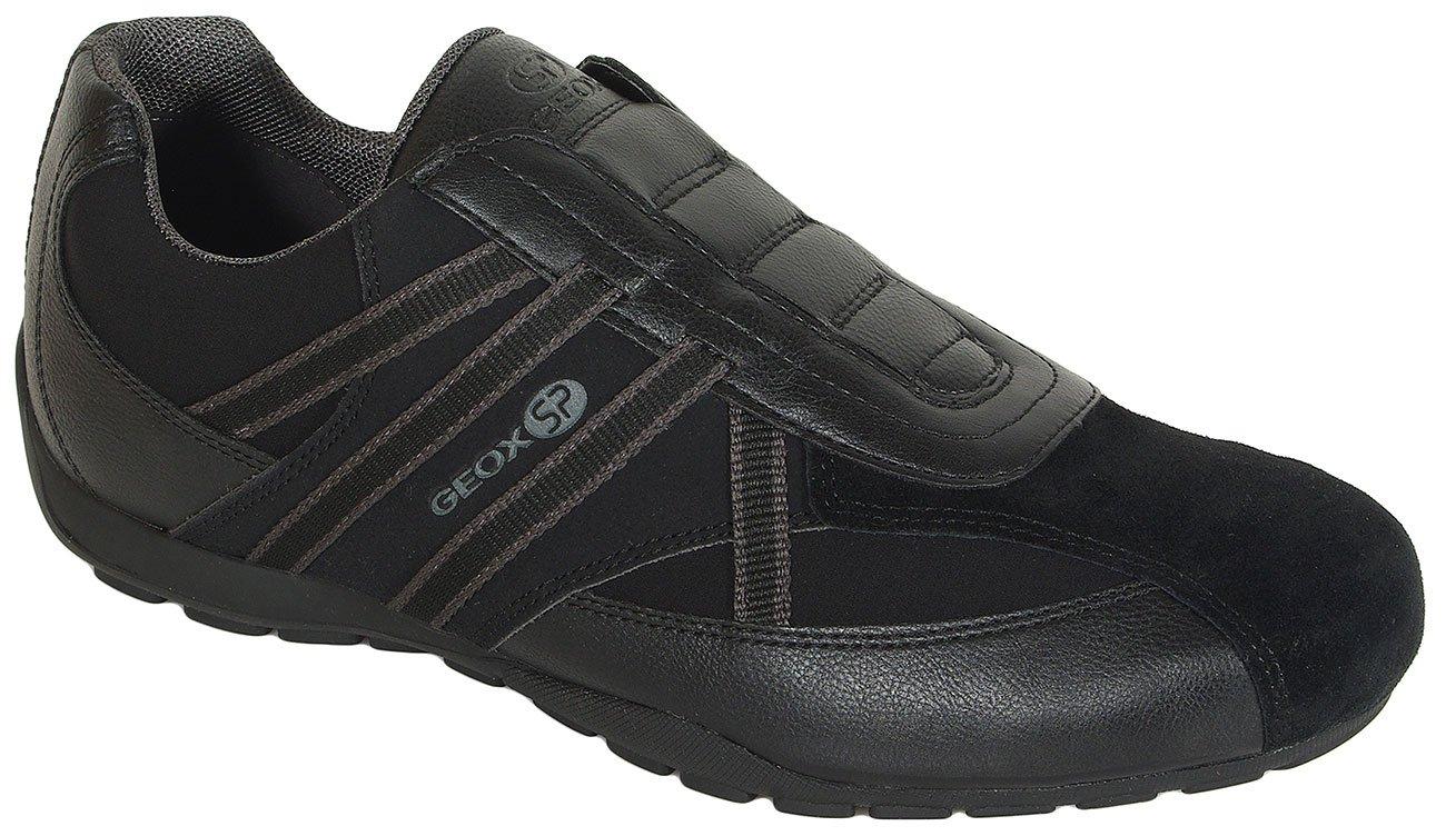 GEOX Ravex B sneakers geobuck+suede black