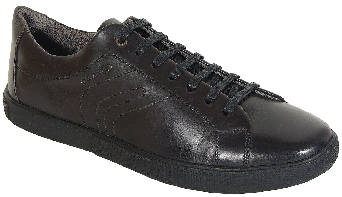 GEOX Jharrod A sneakers smooth leather black