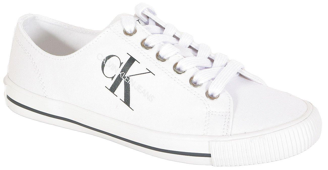 Calvin Klein Jeans Diamante sneakers low top white