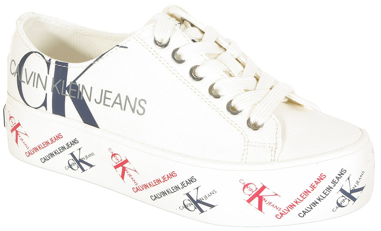 Calvin Klein Jeans Zamira sneakers low top bright white
