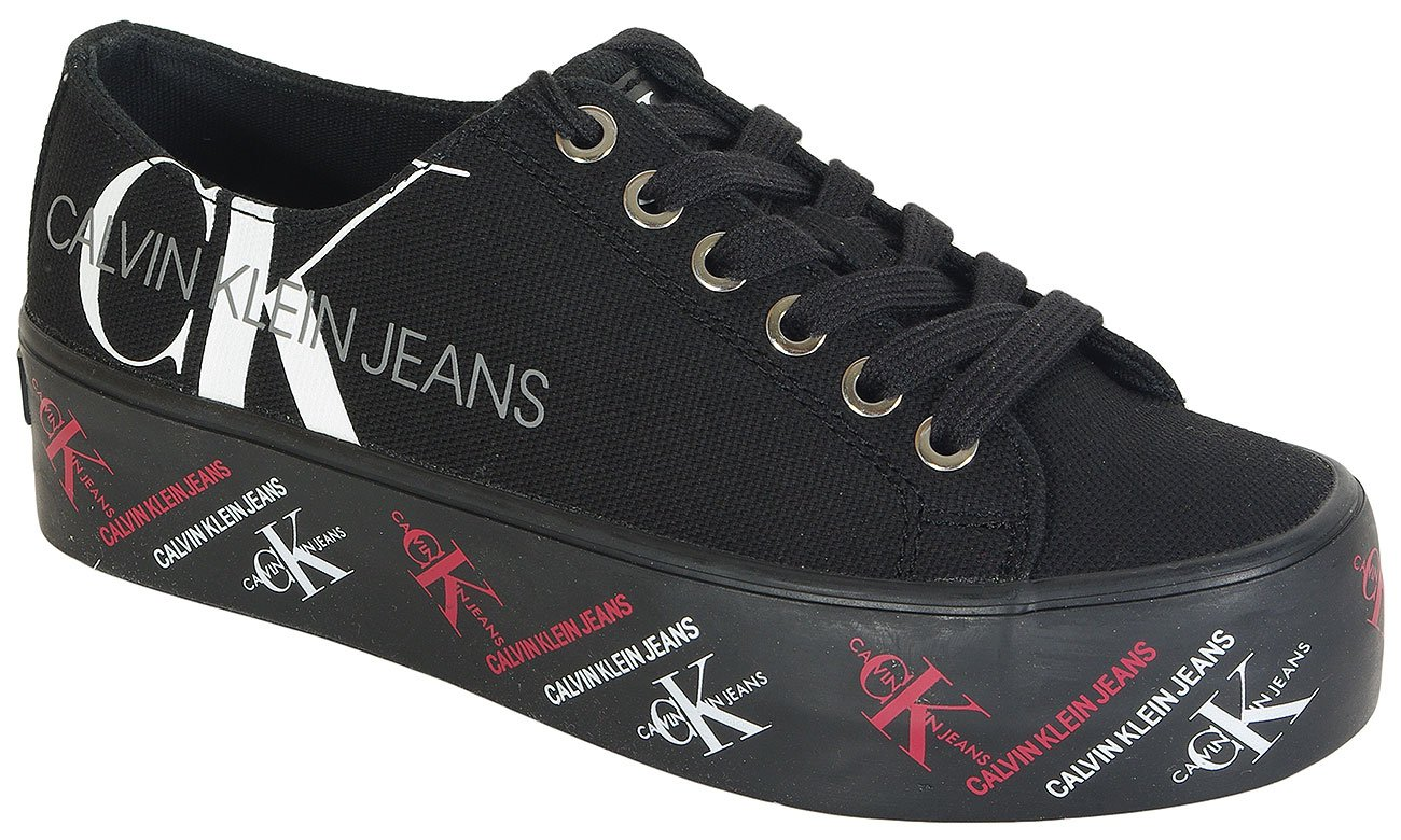 Calvin Klein Jeans Zamira sneakers Low Top Lace Up Can black