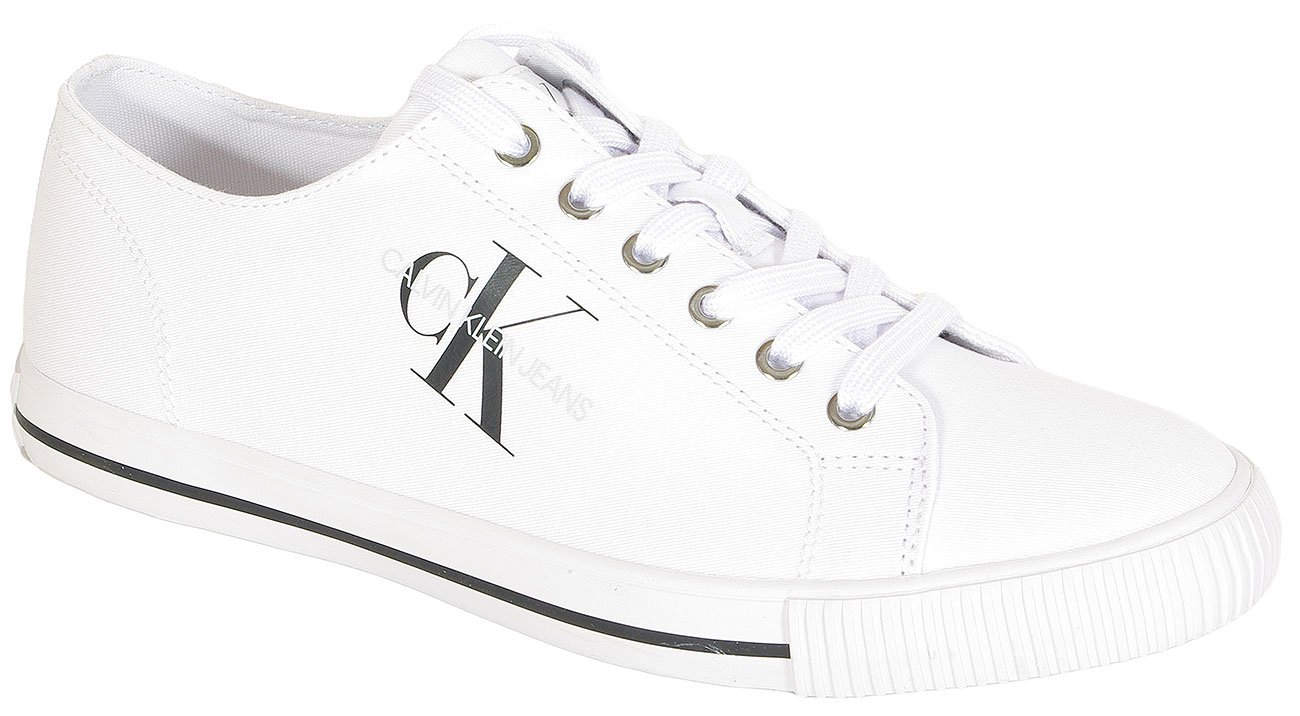 Calvin Klein Jeans Aurelio sneakers Low Top Lace Up Tw white