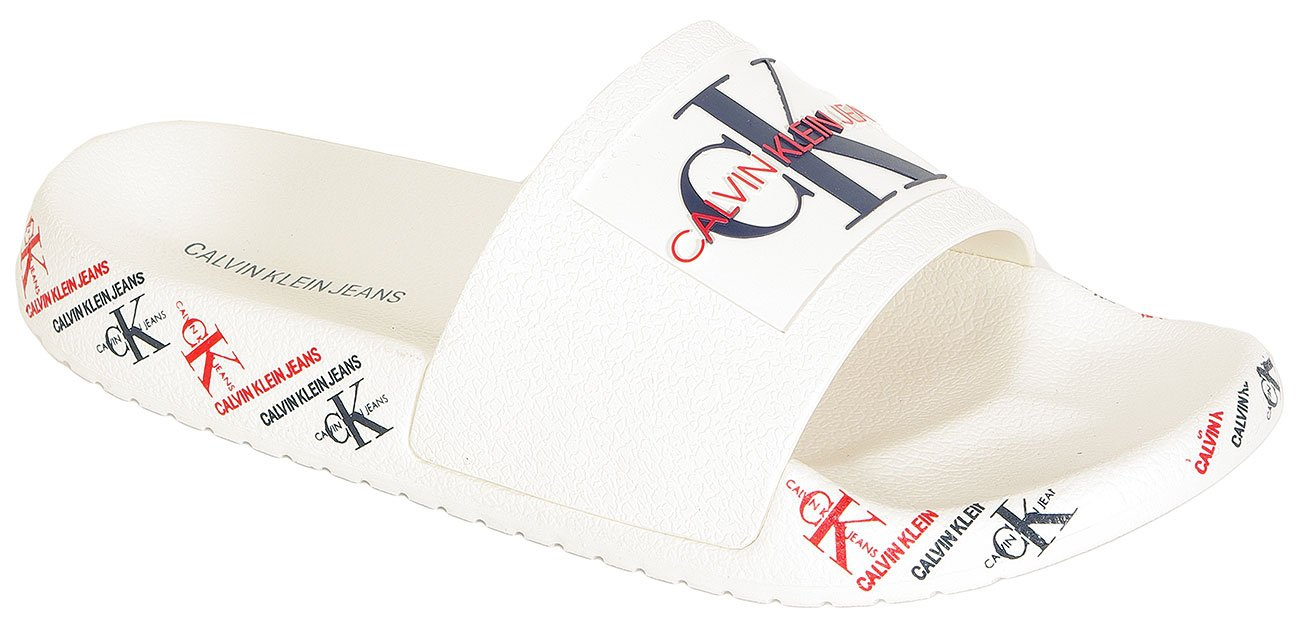 Calvin Klein Jeans Catilyn klapki Pool Slide rubber bright w