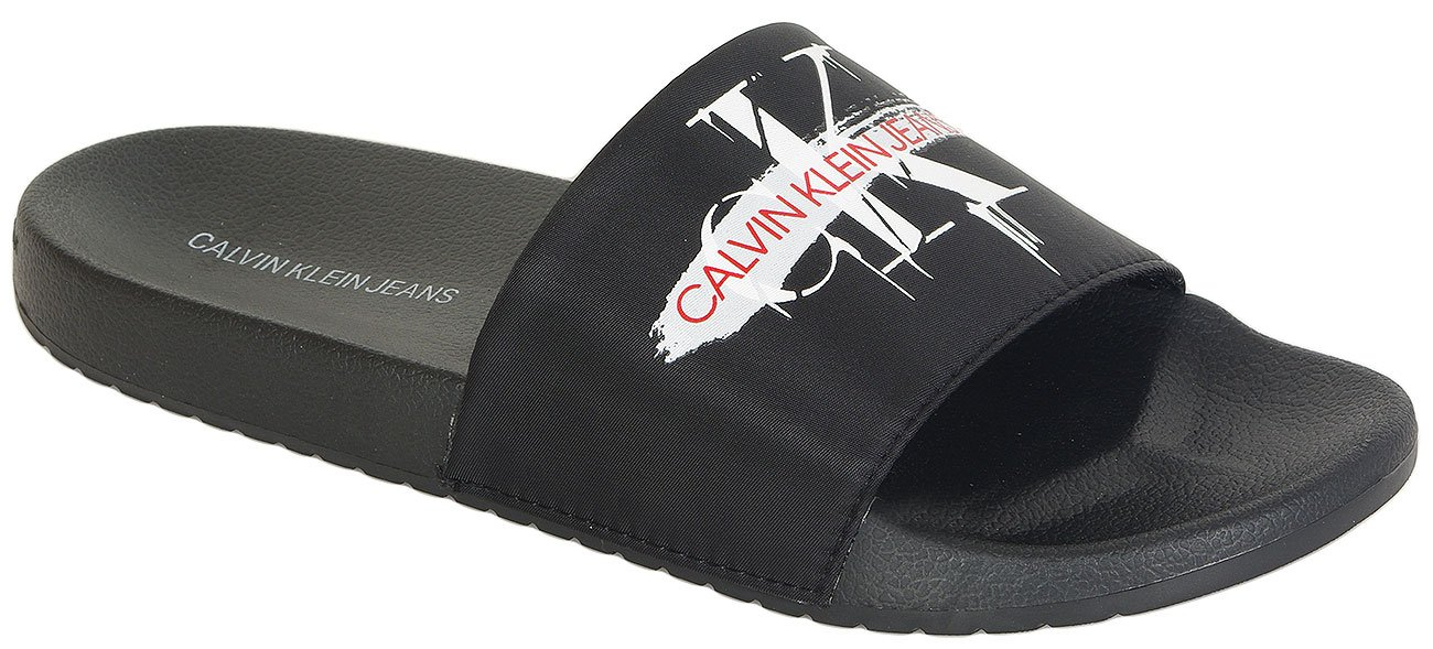 Calvin Klein Jeans Vial klapki Pool Slide nylon black