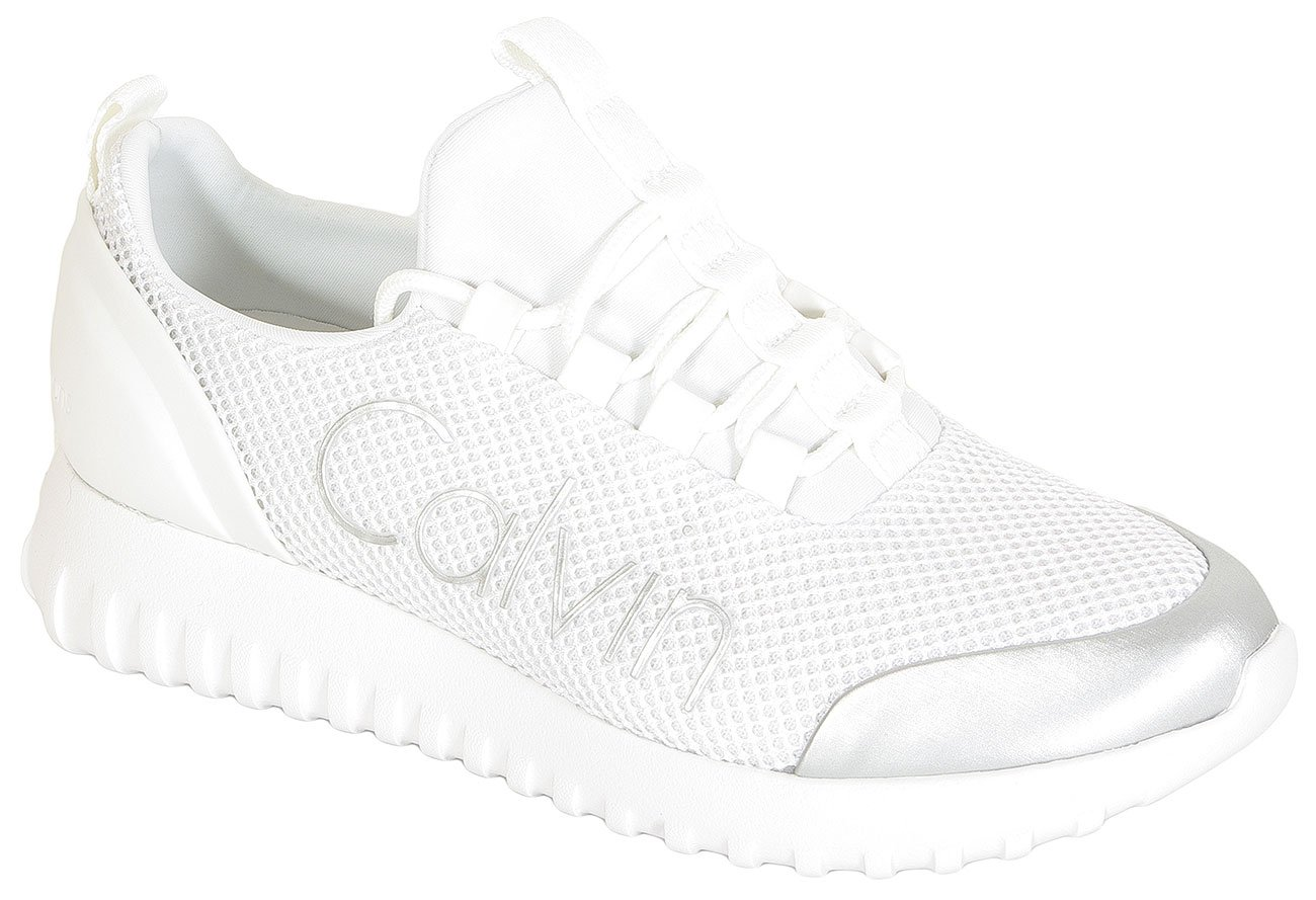 Calvin Klein Jeans Reika sneakers Low Top Lace Up Mesh white