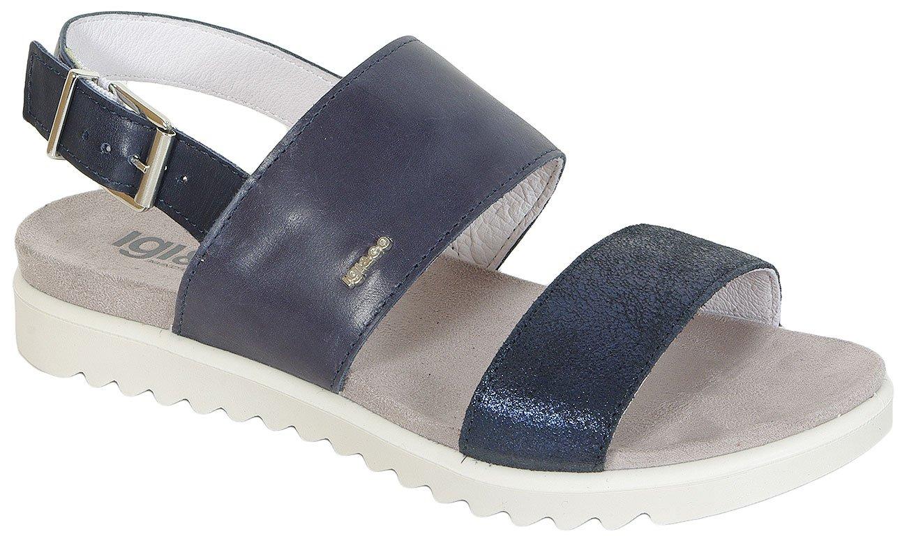 igi&co Sibil Vitello Vegetal Blu sandały