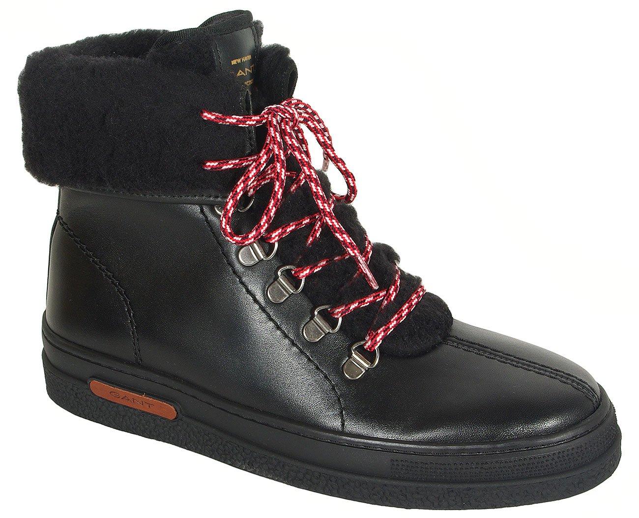 Gant Maria trzewiki leather black