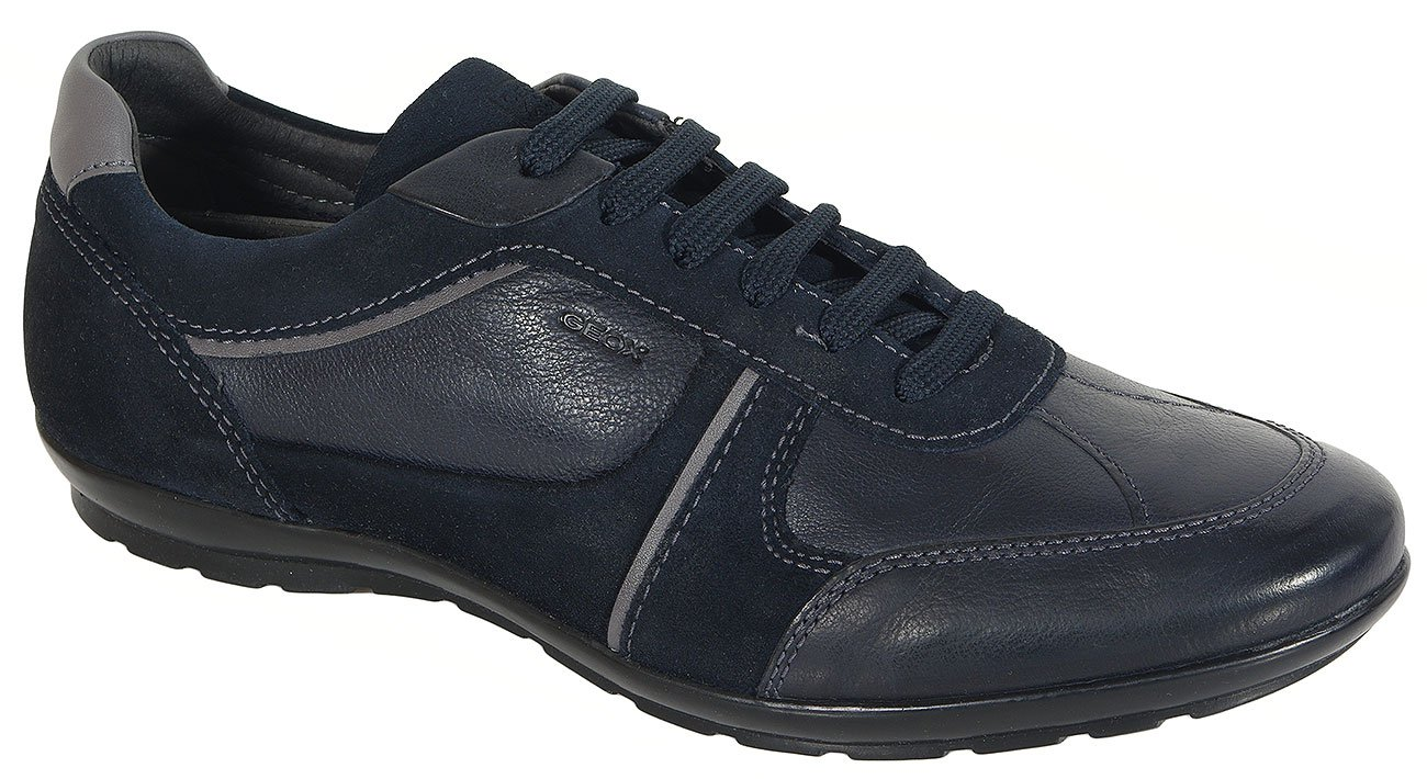 GEOX Symbol A sneakers buffalo+suede navy