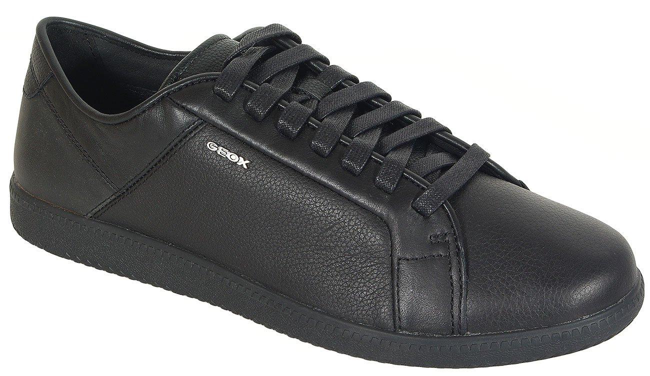 GEOX Keilan D sneakers print.leather+wax.syn. black