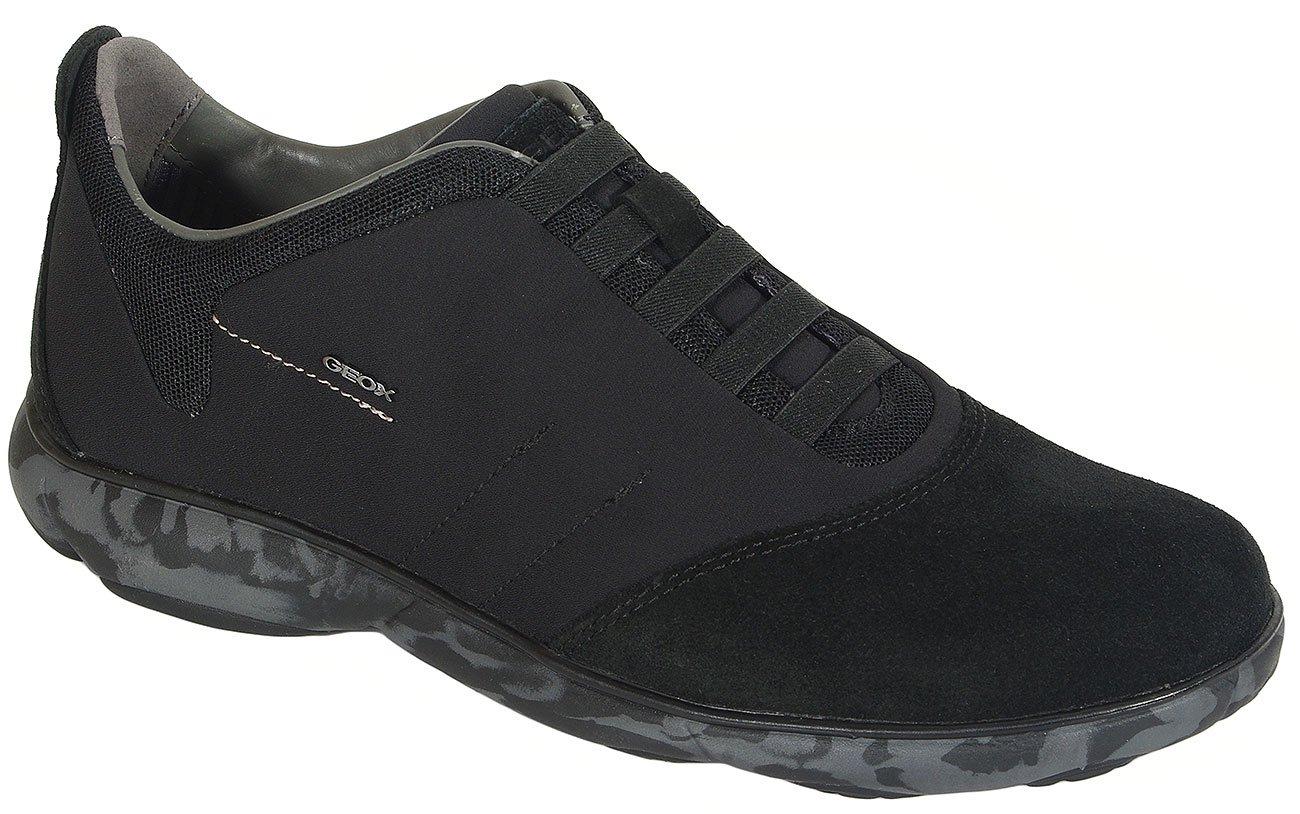 GEOX Nebula F sneakers textile+suede black