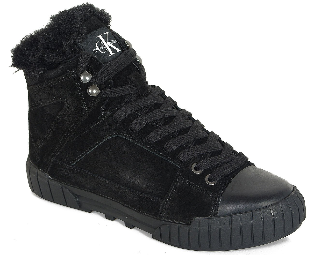 Calvin Klein Jeans Bolla sneakers suede black