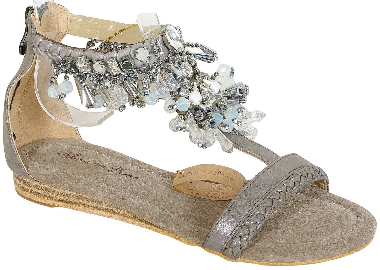 Alma en Pena 17400 Pewter sandały