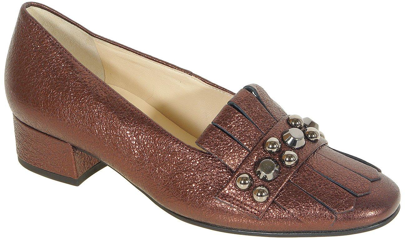 Hogl 3521 Study loafers crackskin darkplum
