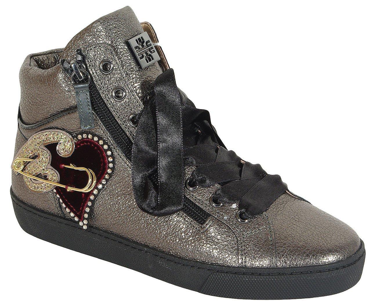 Hogl 0361 sneakers crackskin antracit