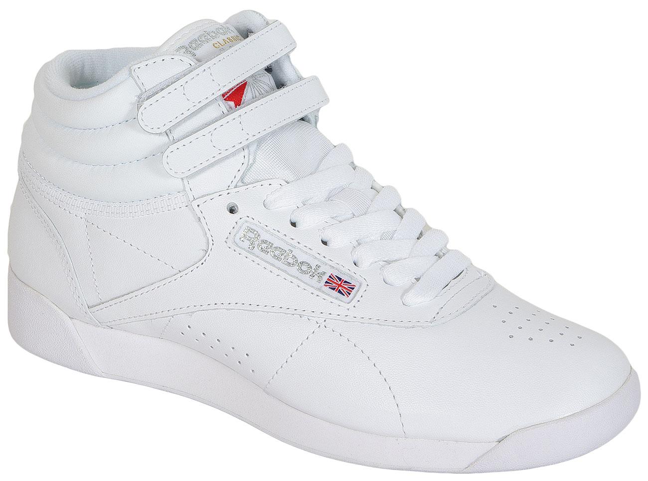 Reebok F/S HI White/Silver sneakers