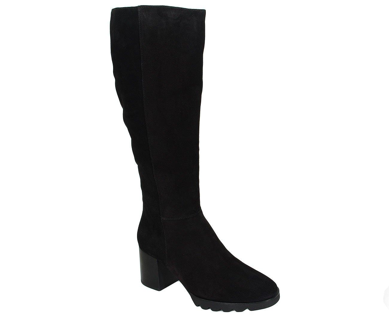 Hogl 4652 kozaki casualvelour black