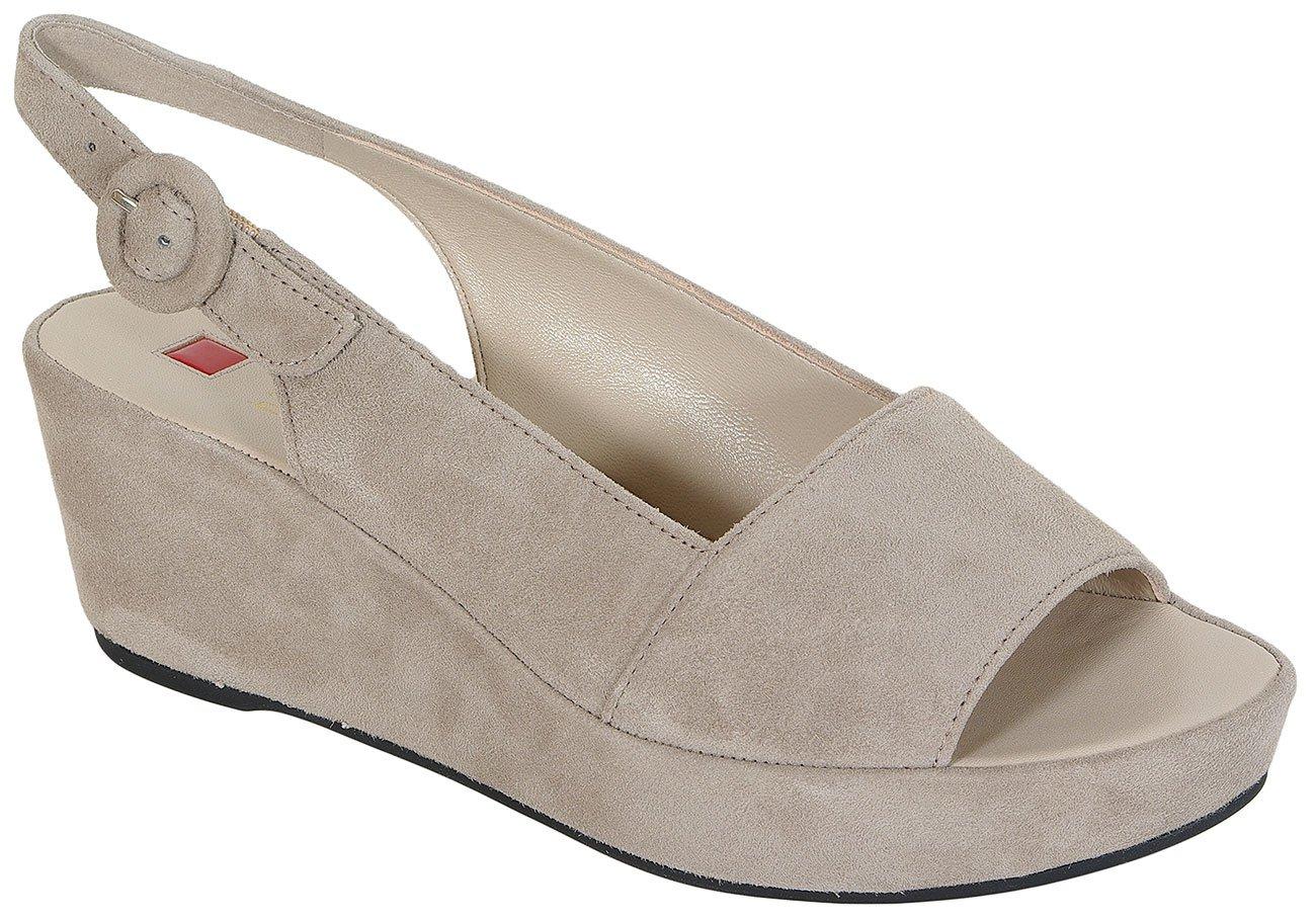 Hogl 3202 Samtkid Stone sandały