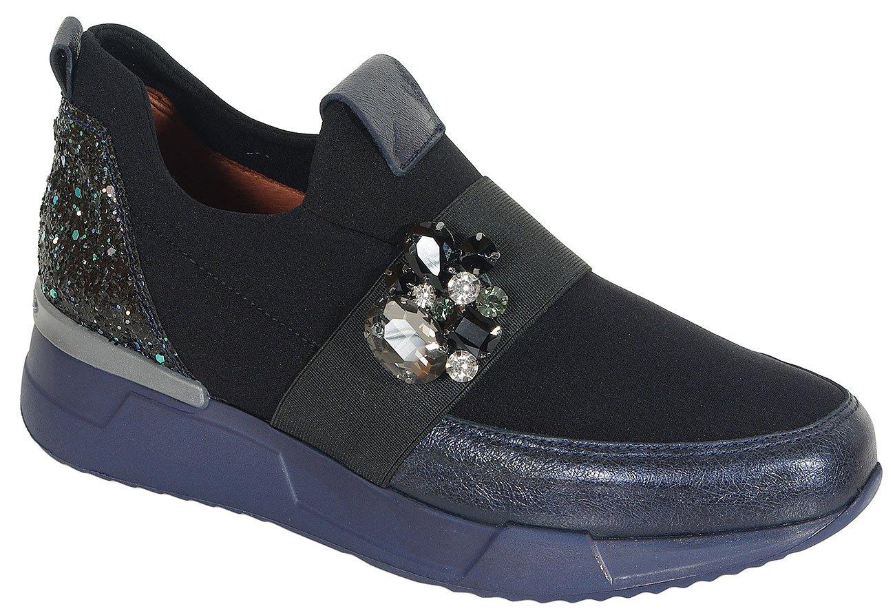 Hispanitas Cinnamon sneakers shadow/neo marine/black