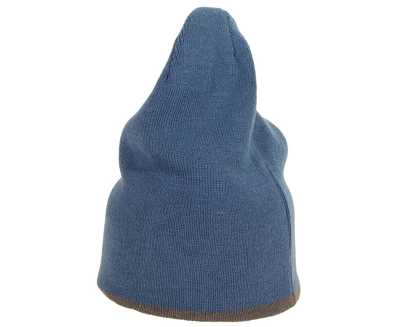 Mess 2355 czapka reversibile 4 in 1 blu