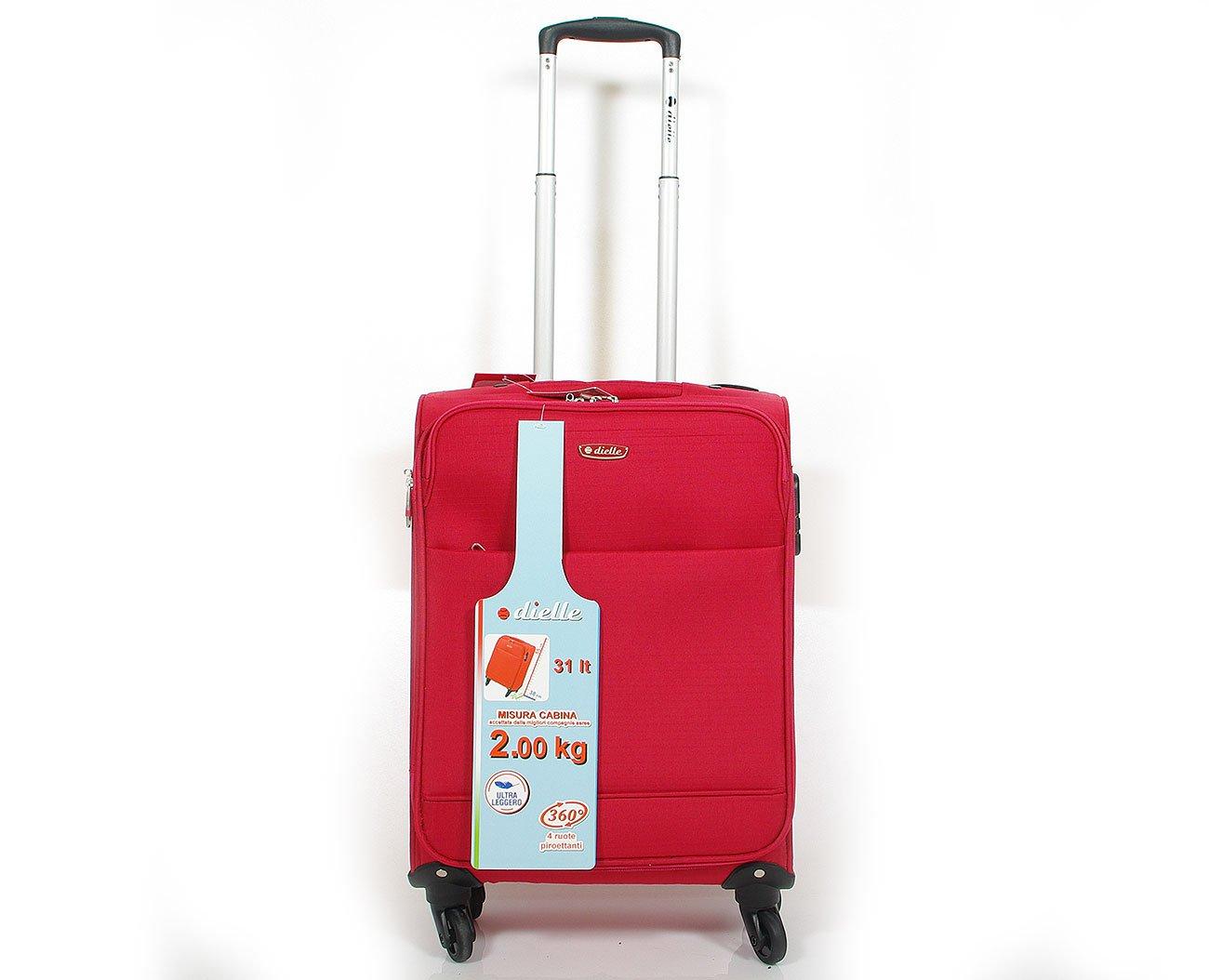 Dielle 785 walizka cabin rosso