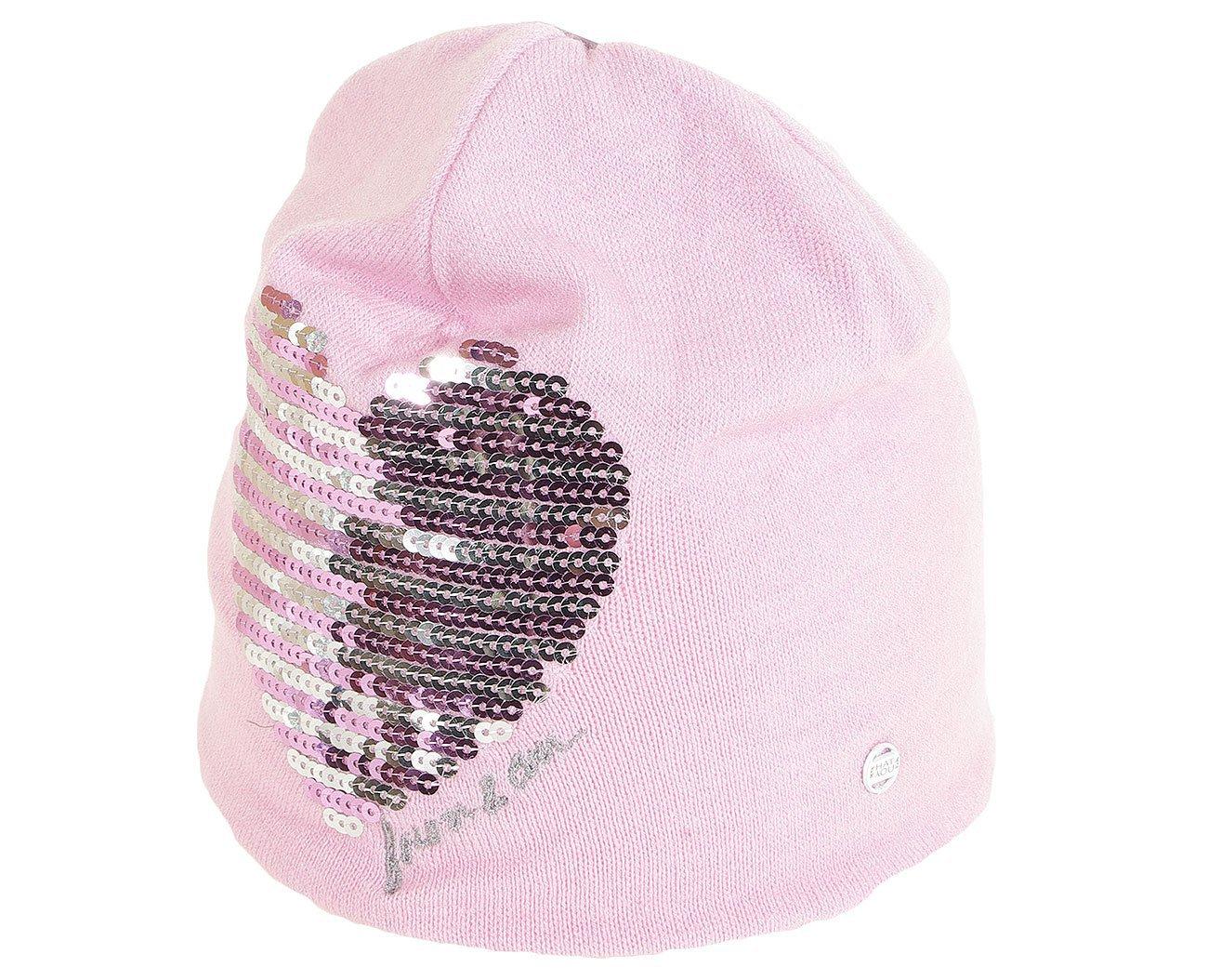 Hat You 2891 czapka serce lilla
