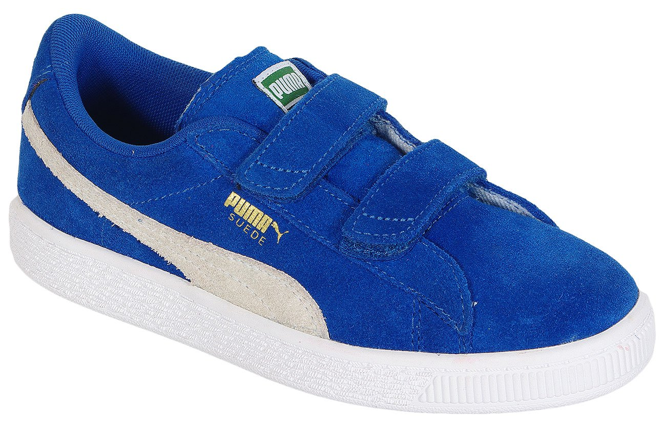 Puma Suede 2 straps PS Blue/White sneakers