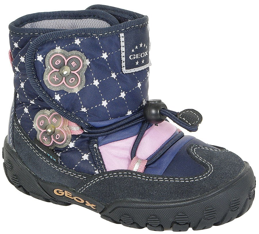 GEOX 04A BABY GULP GIRL WATEPROOF NAVY BOTKI
