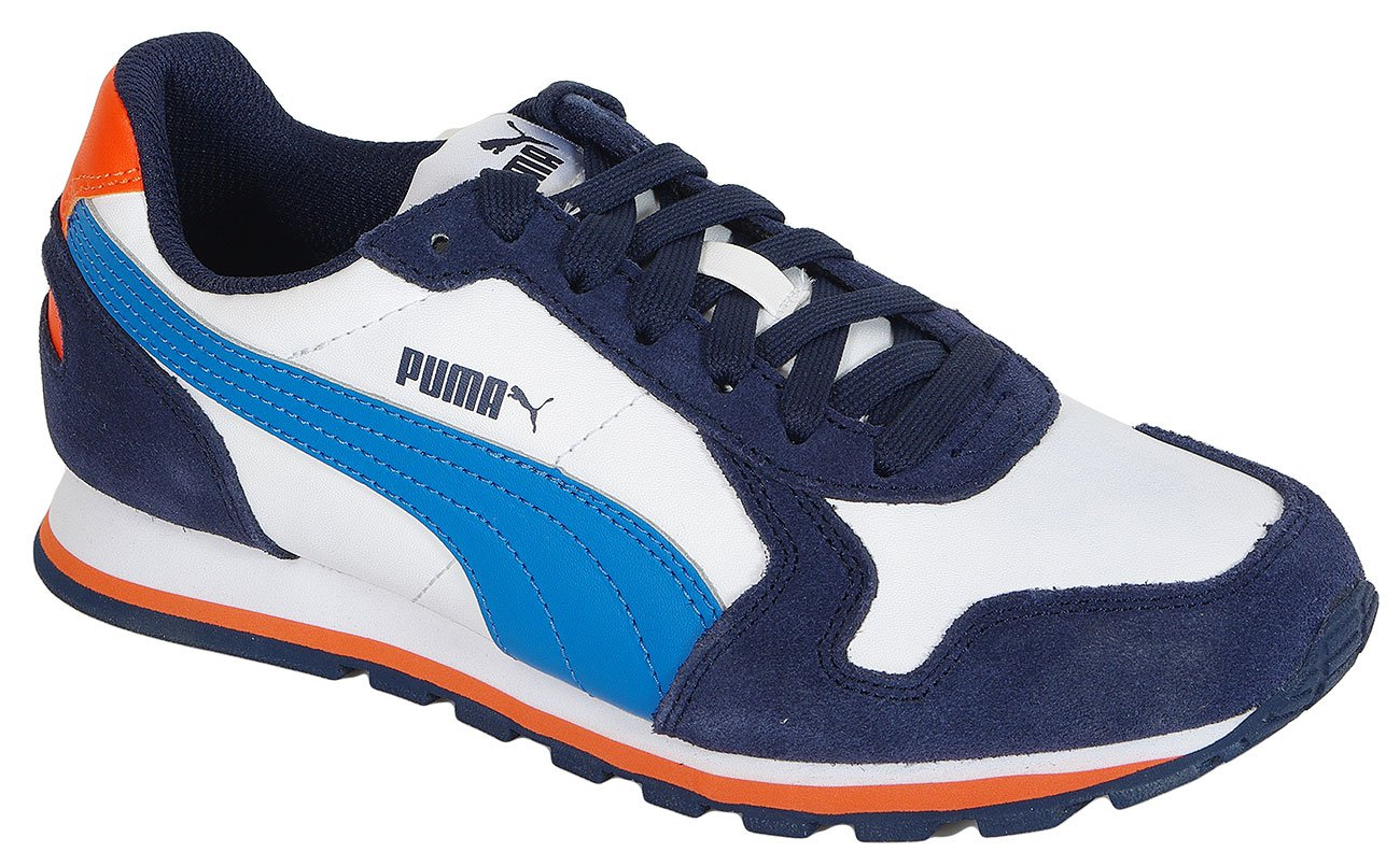 Puma ST Runner L Jr White/Blue sneakers
