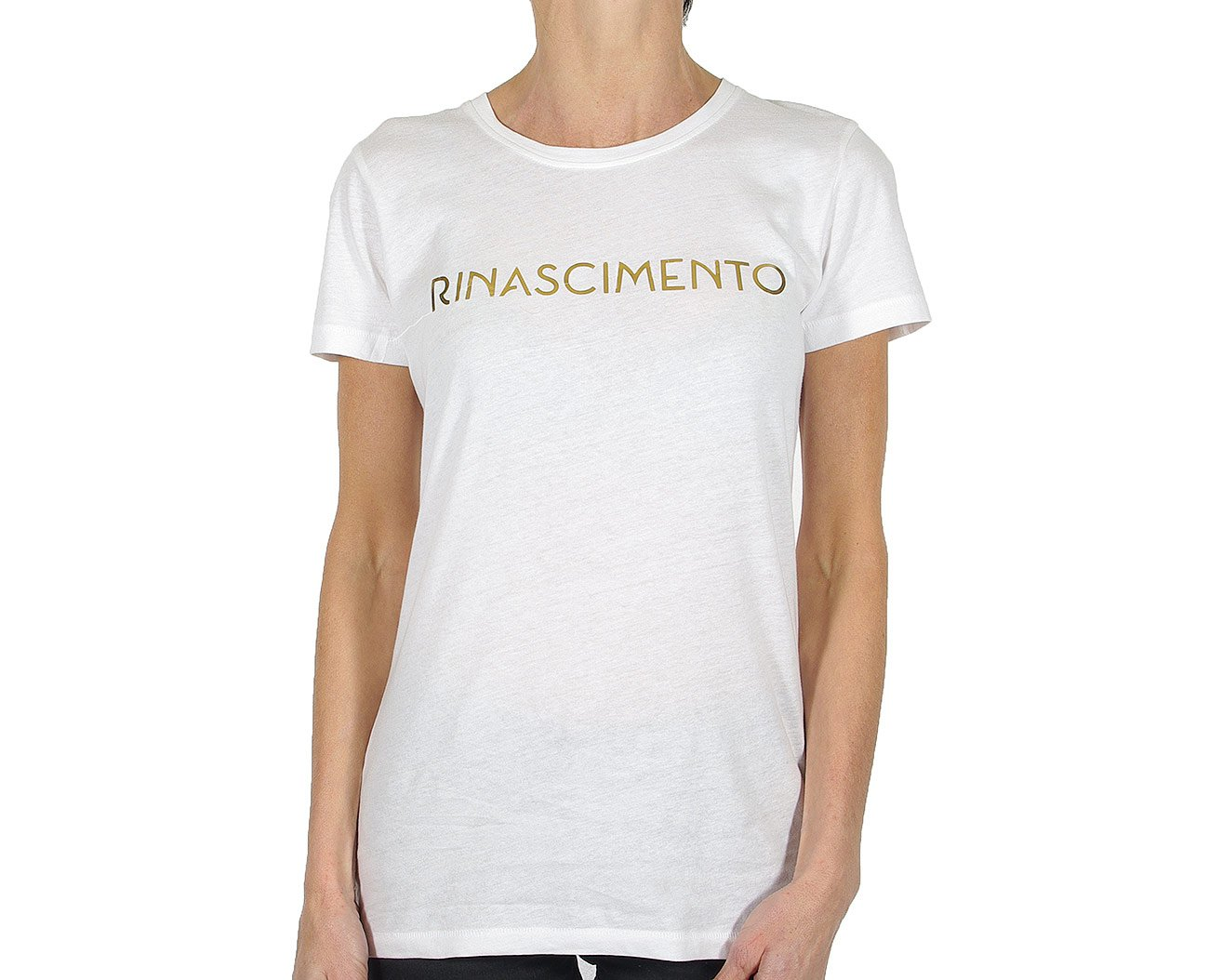 Rinascimento 88554 t-shirt maglietta bianco