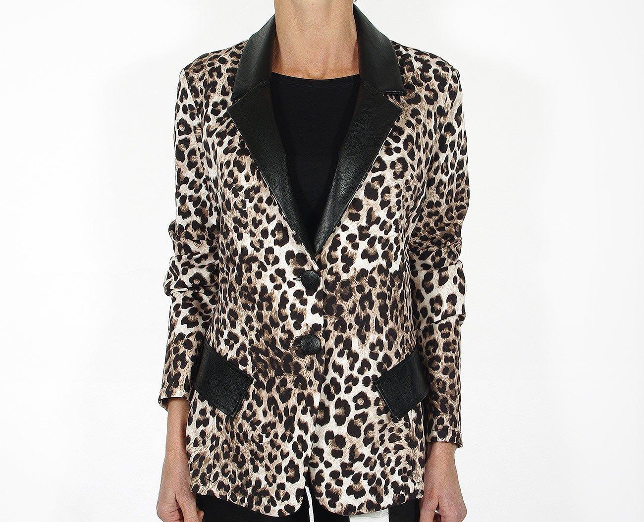 Rinascimento 88964 kurtka giacca nero/beige
