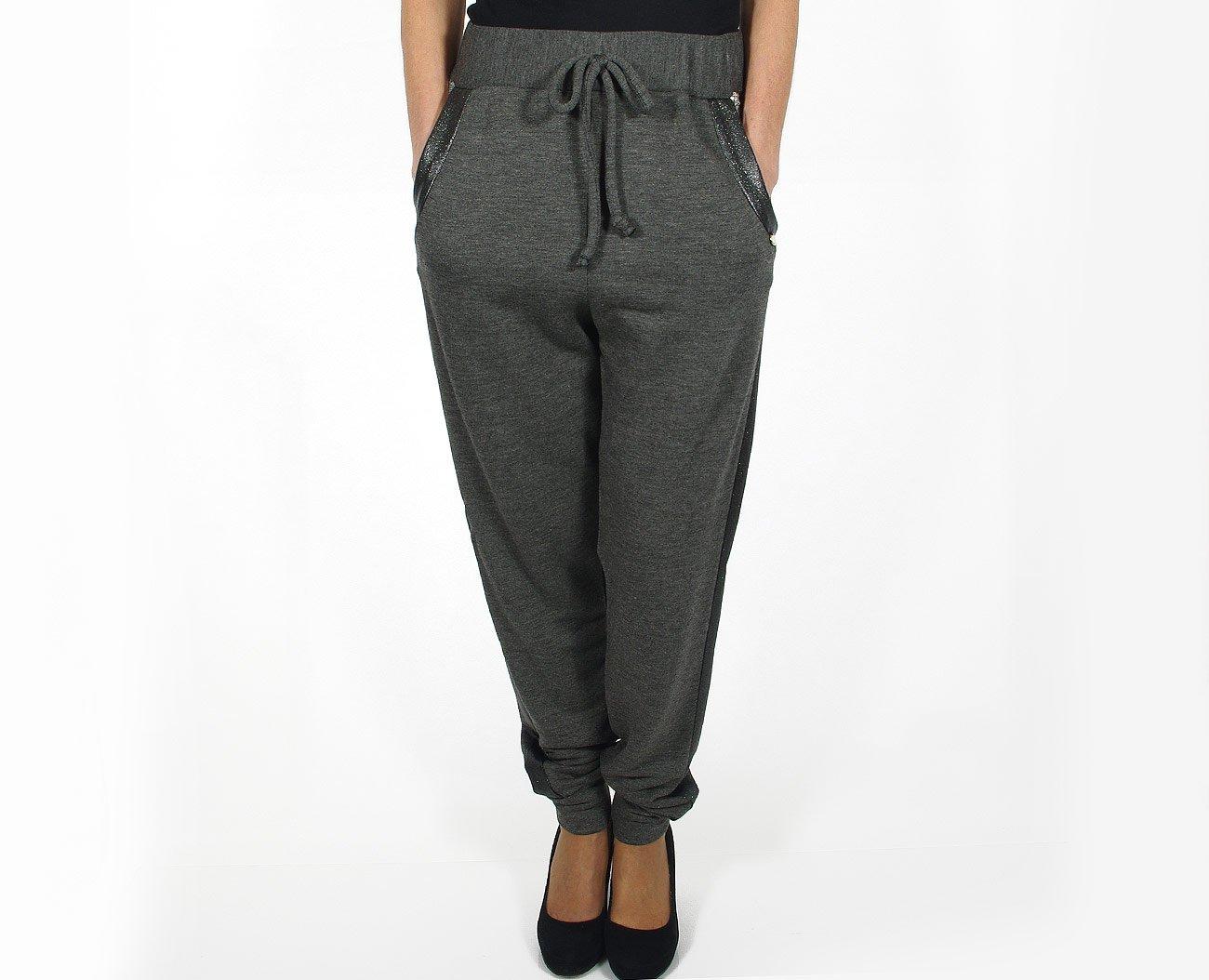 Rinascimento 88029 spodnie pantalone grigio