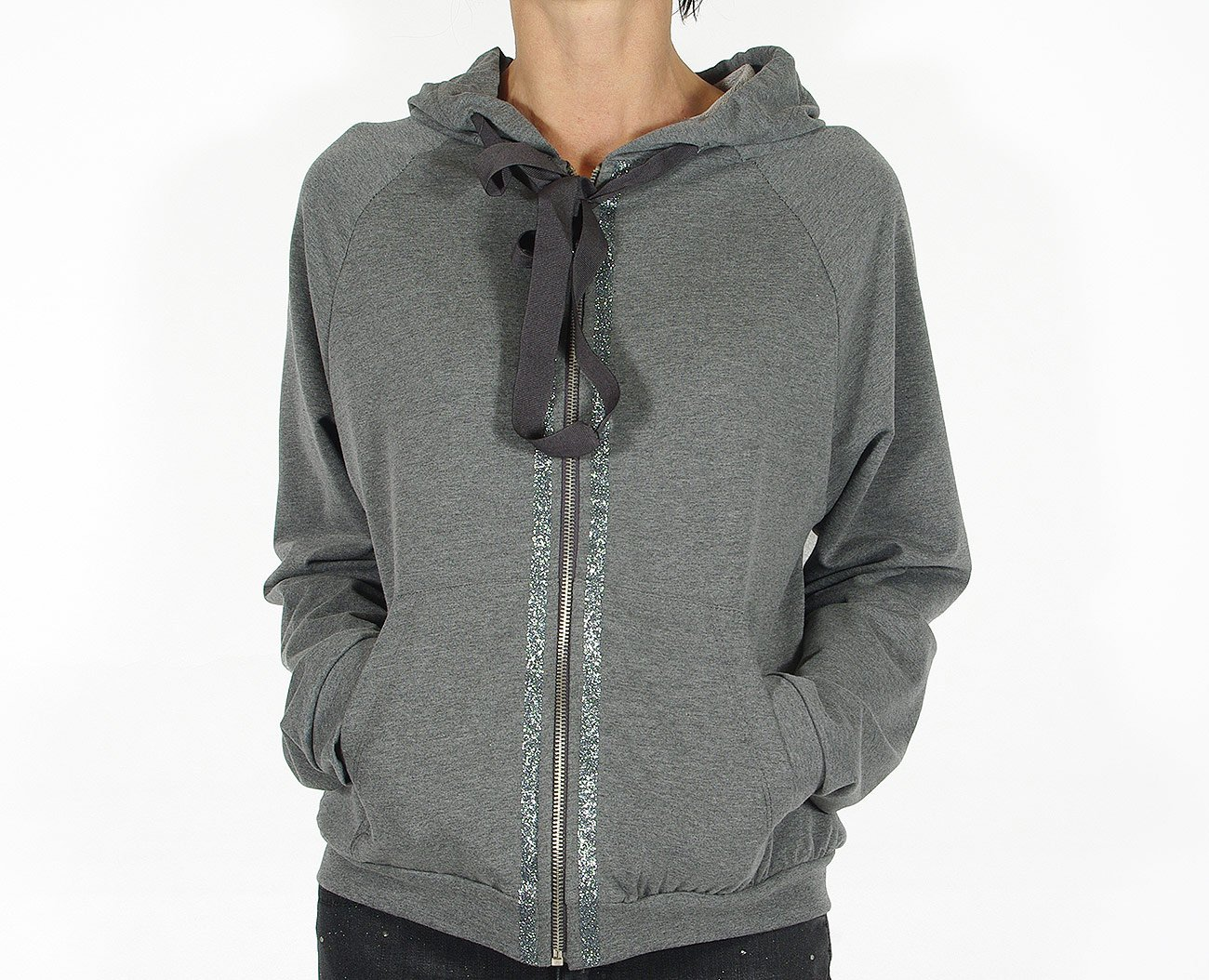 Rinascimento 88151 bluza felpa sweatshirt grigio