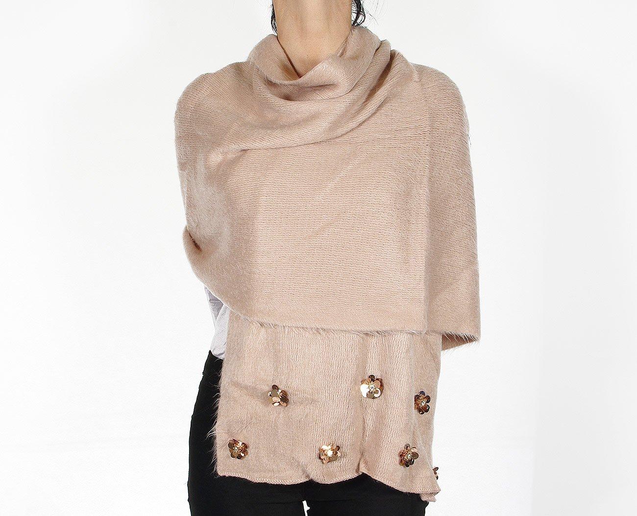 Rinascimento 11279 szalik sciarpa rosa