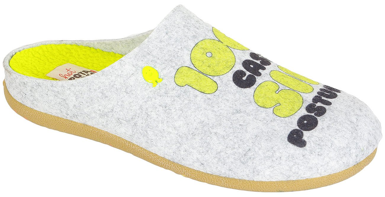 Gioseppo 41411 obuwie domowe Hot Potatoes gris