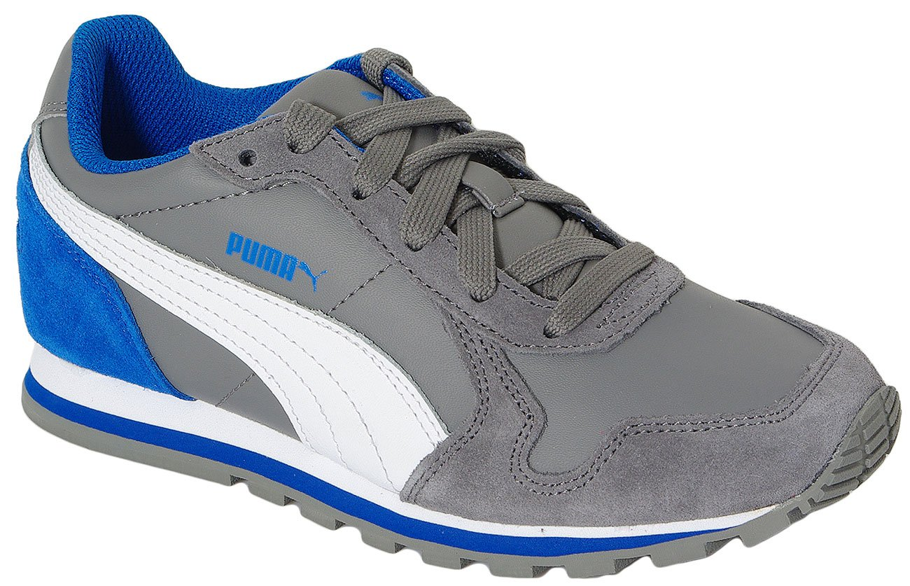 PUMA ST RUNNER L JR STEEL GRAY-WHITE 359087 SNEAKERS