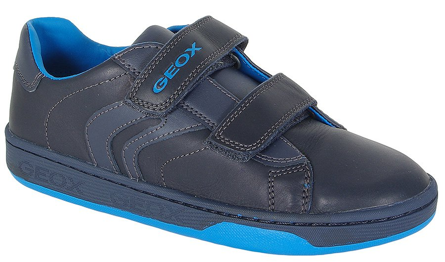 GEOX MALTIN B. A G3A-SMO.LEA NAVY SNEAKERS