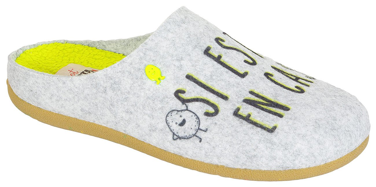 Gioseppo 41413 obuwie domowe Hot Potatoes gris