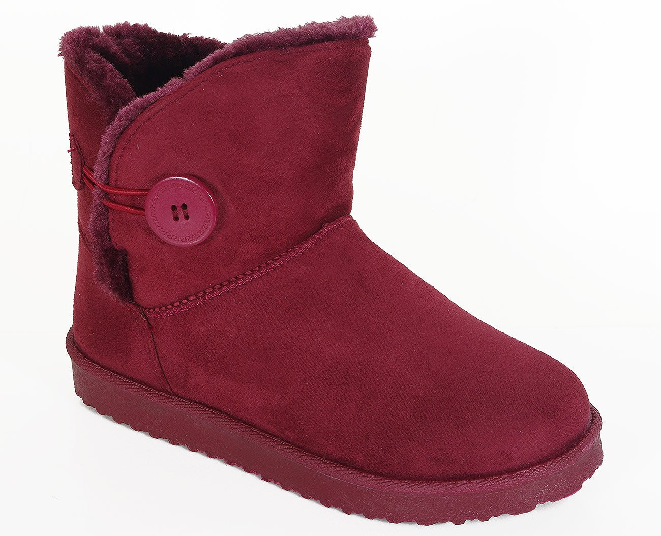 Via Promoda X176 botki dame rose wine red