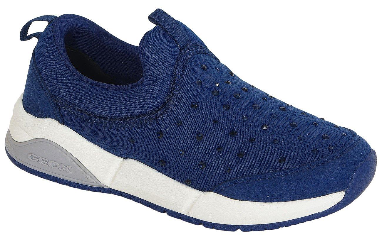 GEOX Hideaki C sneakers Text+GBK Suede Navy