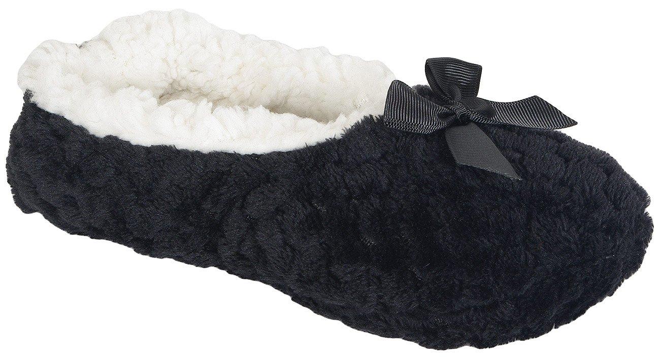 Ballerina Sweet Lady obuwie domowe czarny
